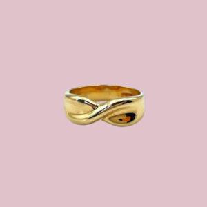gouden wrap ring