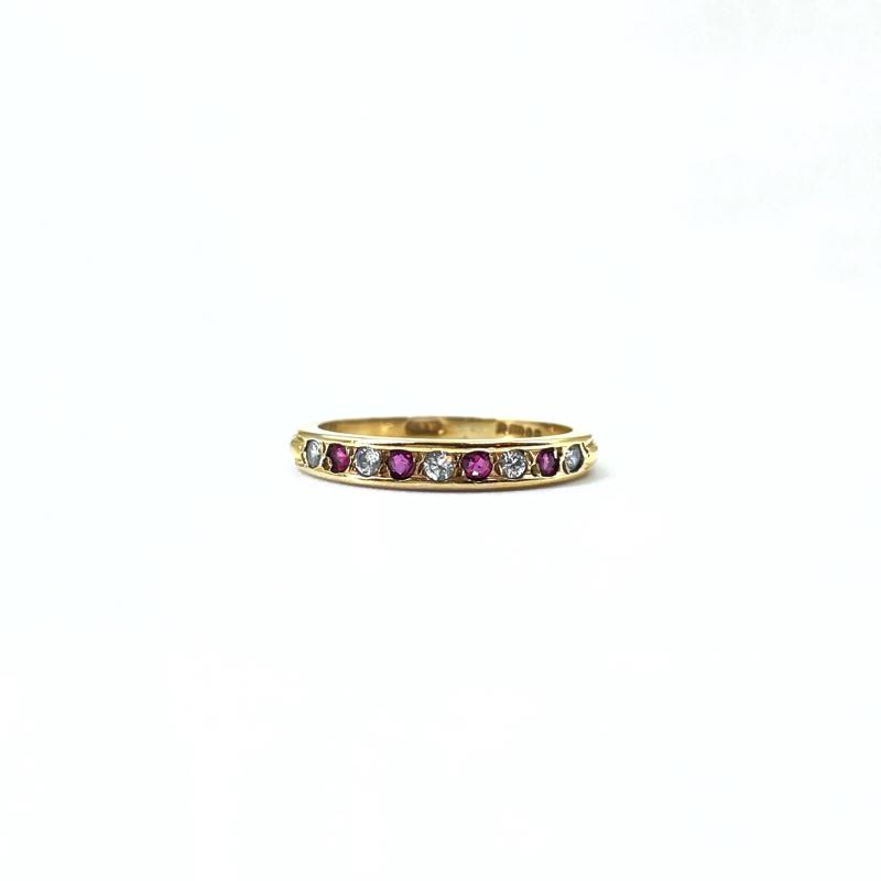 vintage_eternity_ring_robijn_9k_goud