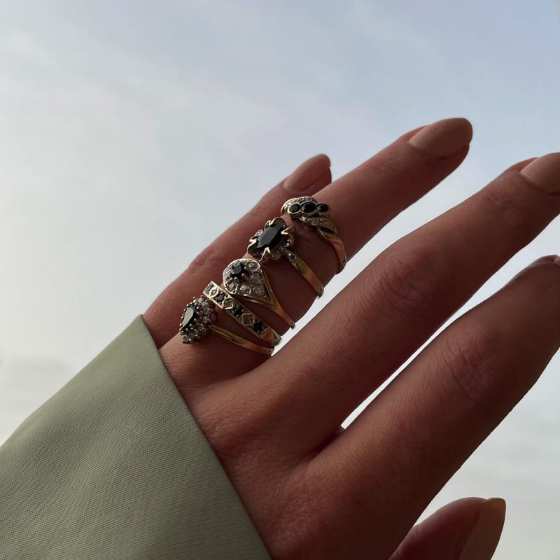 saffier ringen
