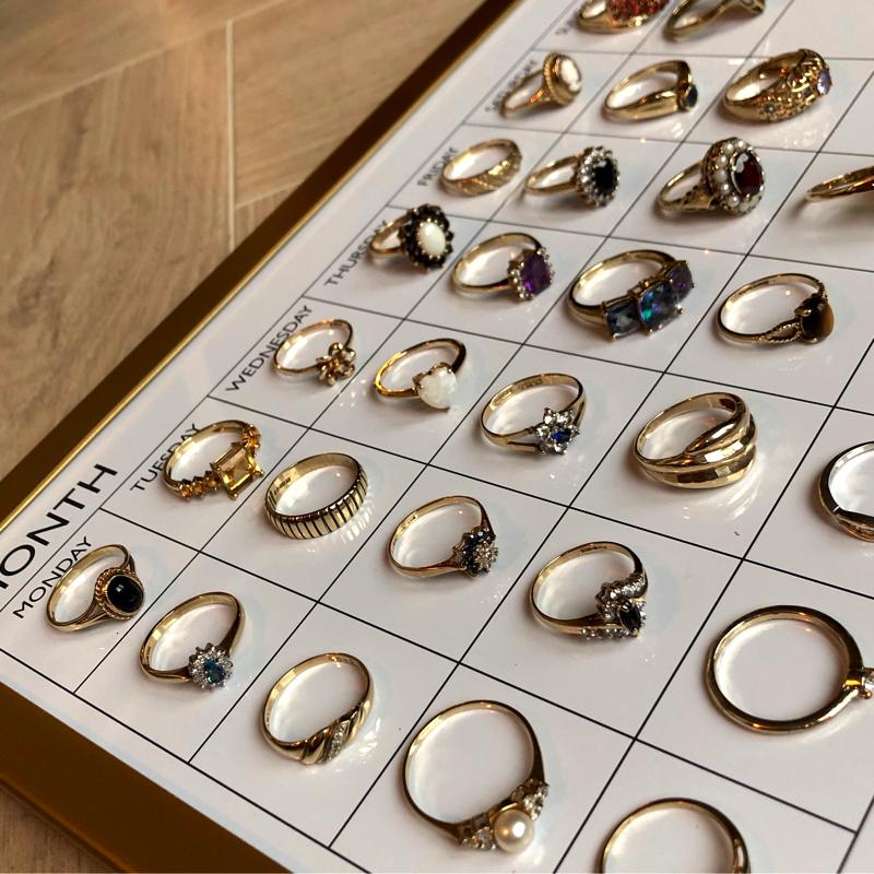 vintage goud sieraden webshop