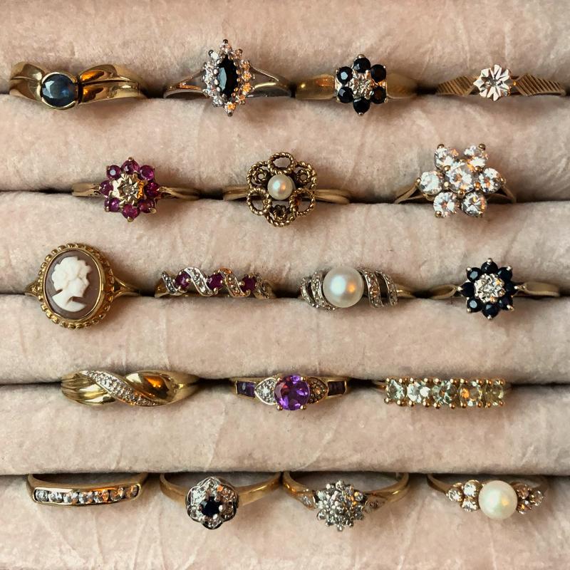 gouden vintage ringen webshop