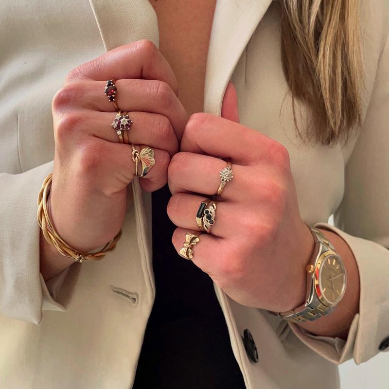 tweedehands ringen webwinkel van goud